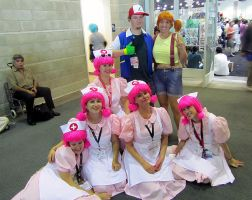 AX11-At the Pokemon Center by moonymonster