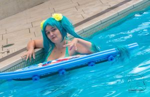 Pool Party Sona - In the Pool by Midnight-Dance-Angel