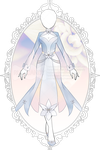 Winter Lilies Outfit R71 (OPEN) by RumCandyAdopt