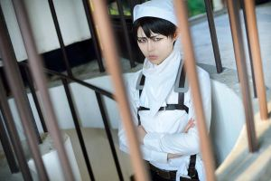 Attack on Titan Levi by Asuka10