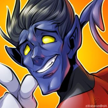 Commission: Nightcrawler icon by zillabean