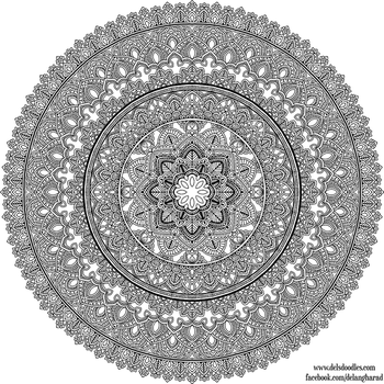 Bigdala Colouring Page by WelshPixie