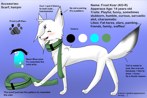 .:Frost Ref Sheet:. by Aekamii