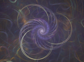 Apophysis: Strings-Spiralized by FractalMBrown