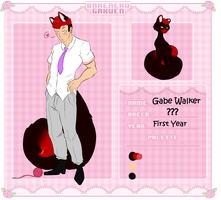 Gabe cat by SweetSouls