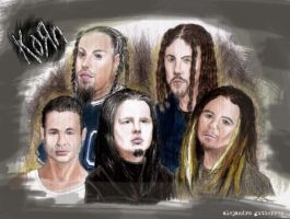 korn cartoon by atier