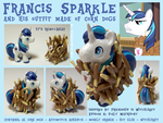 Custom Pony: Francis Sparkle by TheEarthPonyWay