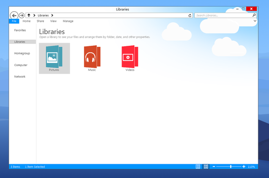 Windows 9 File Explorer by JamesHD2K