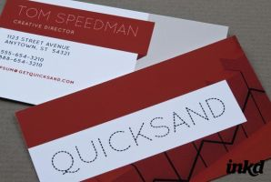 Marketing Firm Business Card by inkddesign