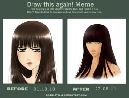 Draw this again meme by Kotik-Stells