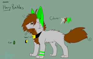 Harry Barkles Reference: Commission by Woods-Of-Lynn