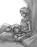 Down Time by Valkyrie-Girl