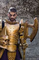 Dwemer Armor Cosplay 5 by Nerv-0