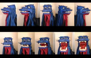 Dragon King of the Sea Puppet by shalonpalmer