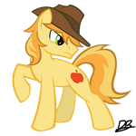 Braeburn (Stylized Vector) by DiveBomb5