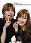 [PNG] SNSD - Tiffany, Sooyoung by CupcakeSwift