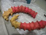 WIP Vriska Horns by HarvesterofPearls