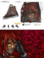 Grell shoes for Sale by Gothic-Inc