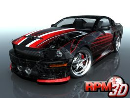 Mustang Design Contest 39 by nascar3d