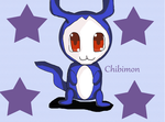 Chibimon by DarkJanet