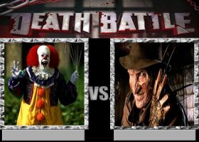Pennywise Vs Freddy Krueger by Normanjokerwise