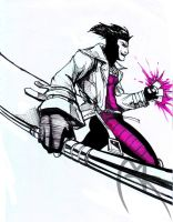 Gambit by loneHUNGRYwolf