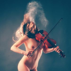 Violin spirit by silvestru