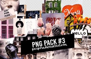 PNG PACK 03 by pxrpose