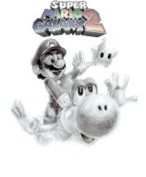 Super Mario Galaxy 2- My pencil draw- by GabrielArtist
