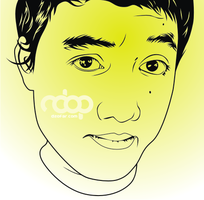 Ndop Line Art vector by ndop