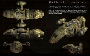 Firefly class Series 1 transport ortho by unusualsuspex