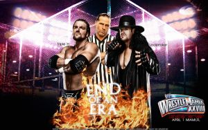 WrestleMania XXVIII Triple H vs Undertaker by Mr-Enjoy