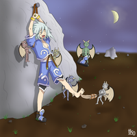 Genis tickled by tk0-Art