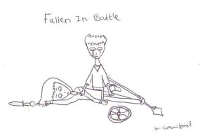 Fallen In Battle by willvoy