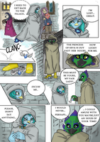 First Encounter by Noe-Izumi (Coloured) by Cosmic-Phoenyx