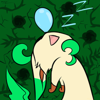 Sleepy Leafeon by Uluri