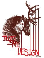 This is My Design - Will Graham by marourin