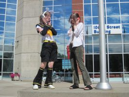 Rin and Yoh Cosplay-Animethon by shadownater