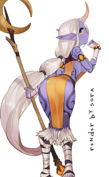 Soraka render by oanhcena
