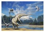 Tenontosaurus vs Deinonychus by dustdevil