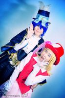 Alice in Musicland Kaito and Rin by Xiang-shui