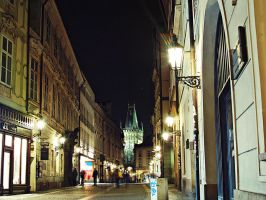 Night Prague 4 by Csipesz