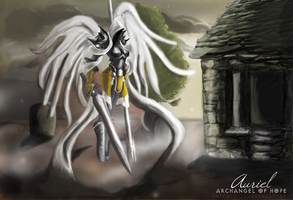 Auriel, Archangel of Hope by craftyaegis