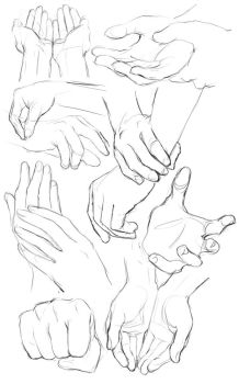 Hand Doodles by Mad-Sniper