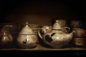 Tea set by Pajunen