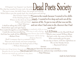 Dead Poets Society by kab9263