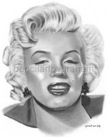 Marilyn Monroe by drawman61