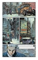Snowy Metropolis-Colors by DimMartin