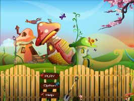 MushLand..........Game Art by mchowdhury1983