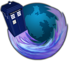 TARDIS firefox icon by jokermask